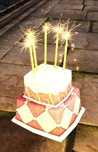Awe Inspiring Giant Orange Coconut Cake Guild Wars 2 Wiki Gw2W Funny Birthday Cards Online Aeocydamsfinfo
