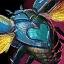 Turquoise Scarab Heart.png