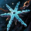 Snowflake Copper Amulet.png
