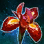 Red Iris Flower.png