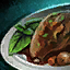 Plate of Coq Au Vin with Mint Garnish.png