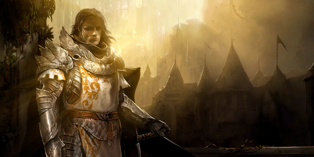 The Human Warrior - aptly represented by Logan Thackeray one of the iconic Guild Wars 2 characters