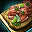 Cilantro and Cured Meat Flatbread.png