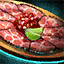 Plate of Beef Carpaccio with Salsa Garnish.png