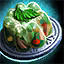 Plate of Poultry Aspic with Mint Garnish.png