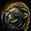 Black Lion Statuette.png