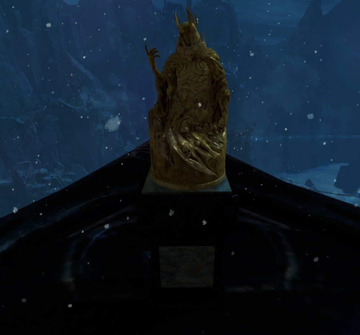 Gold Statue Of Grenth Trophy