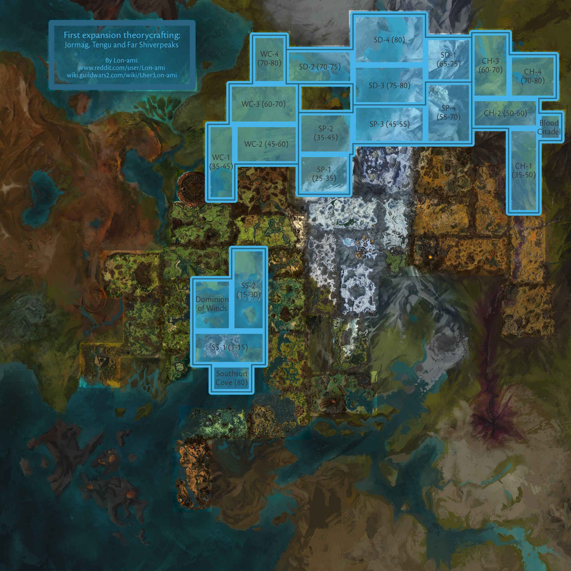 Guild Wars 1 World Map.A Small Change I Ve Noticed On The Updated World Map Guildwars2