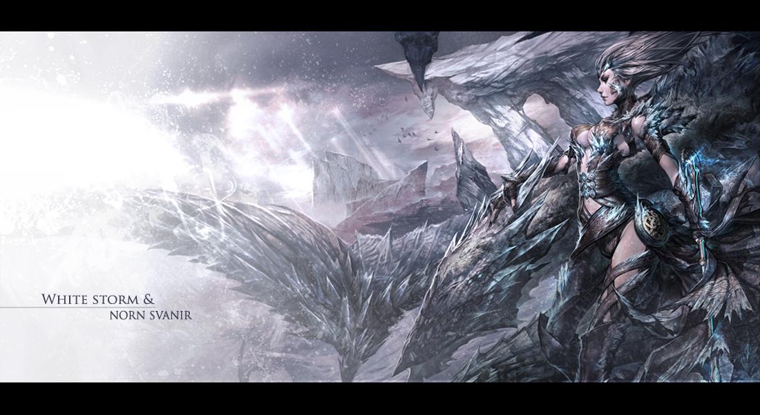 ArenaNet Character Art Test Guild Wars 2 Female Norn t