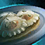 Plate of Clear Truffle and Sesame Ravioli.png
