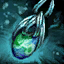 Azurite Mithril Earring.png
