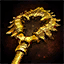 Golden Black Lion Chest Key.png