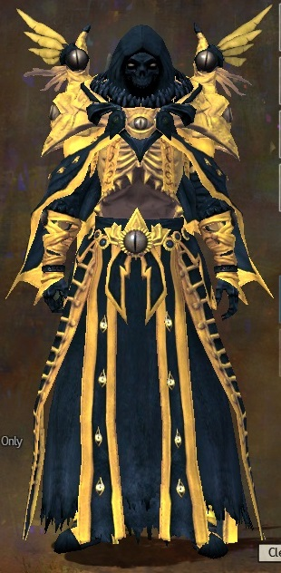 Arah armor light human male front