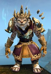 Leystone armor (light) charr female front.jpg