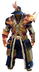 Flamewalker armor norn male front.jpg
