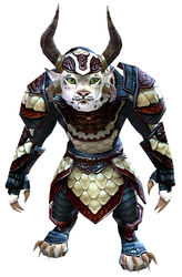 Tempered Scale armor charr female front.jpg