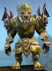 Ardent Glorious armor (heavy) charr male front.jpg