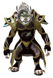 Guild Watchman armor charr female front.jpg
