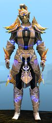 Mistforged Triumphant Hero's armor (light) sylvari male front.jpg