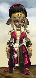 Spearmarshal's armor (light) asura female front.jpg