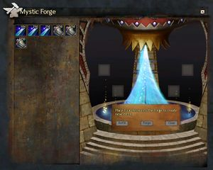 Mystic forge guild wars 2 wiki gw2w the mystic forge user interface malvernweather Choice Image