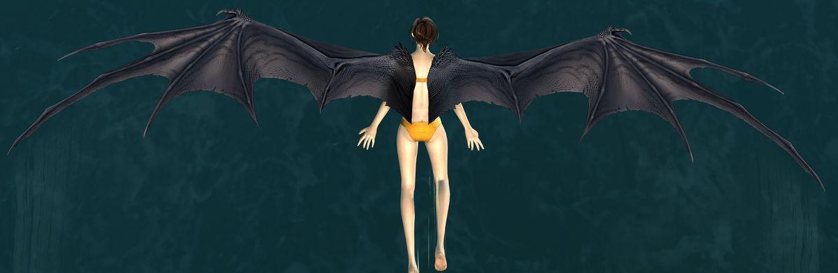 Scaled Dragon Wings Glider Guild Wars 2 Wiki Gw2w