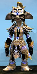 Mistforged Triumphant Hero's armor (light) asura male front.jpg