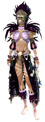 Tribal armor human female front.jpg