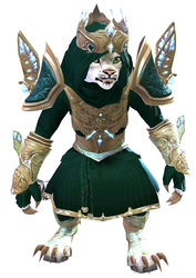 Glorious Hero's armor (light) charr female front.jpg
