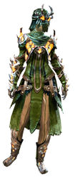 Flame Legion armor (medium) sylvari female front.jpg