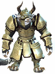 Ascalonian Protector armor charr female front.jpg