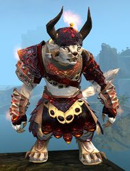 Flamewrath armor charr female front.jpg