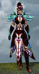 Mistforged Triumphant Hero's armor (light) norn female front.jpg