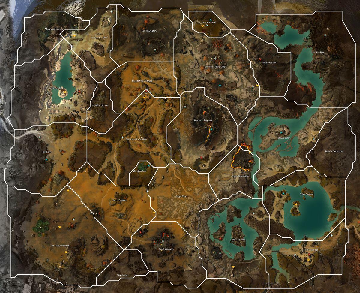 Fireheart Rise Guild Wars 2 Wiki Gw2w