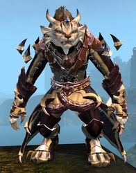 Perfected Envoy armor (light) charr female front.jpg