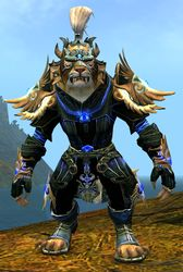 Mistforged Triumphant Hero's armor (light) charr female front.jpg