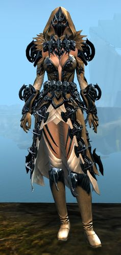 Bladed armor (light) human female front.jpg