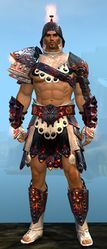 Flamewrath armor human male front.jpg