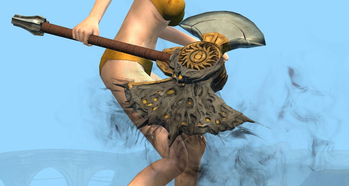 Mist Stranger Axe Skin Guild Wars 2 Wiki Gw2w