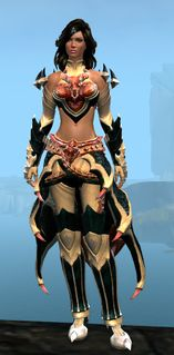Perfected Envoy armor (light) human female front.jpg