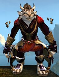 Refined Envoy armor (light) charr female front.jpg