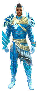 Luminescent armor (light) human male front.jpg