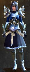 Mistforged Glorious Hero's armor (light) norn female front.jpg