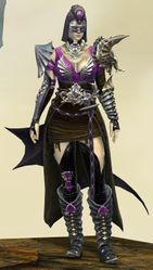 Funerary armor (medium) norn female front.jpg