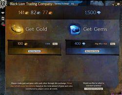 Currency exchange - Guild Wars 2 Wiki (GW2W)