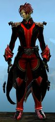 Refined Envoy armor (light) sylvari male front.jpg