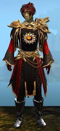 Ornate guild vestments hammer hanging man forex