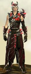Blossoming Mist Shard armor (light) human male front.jpg