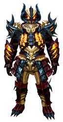Flame Legion armor (heavy) norn male front.jpg