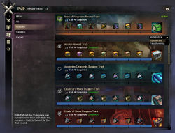 PvP Reward Track - Guild Wars 2 Wiki (GW2W)